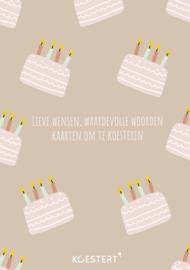 Verjaardagskaarten | bewaarbundel | konijn