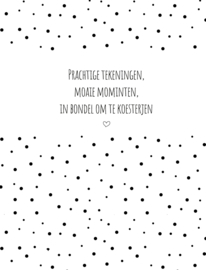 Pake & beppe | bewaarbundel | zwart-wit