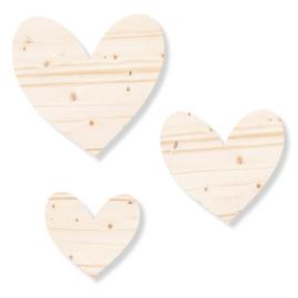 Set harten | hout