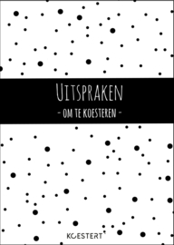 Uitsprakenboek (zwart-wit)