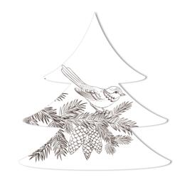 Kerstboom   vogeltje