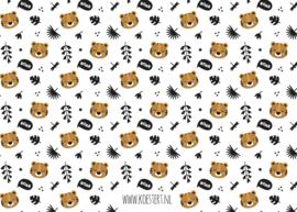 XXL bewaarbundel | tekeningen- en knutsels | tijger | A3 formaat