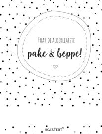 Invul(dag)boek/oppasboek | Frysk | free printable