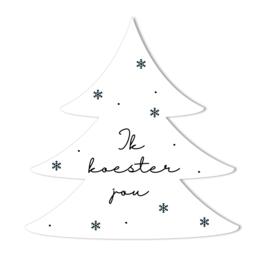 Kerstboom | Ik koester jou