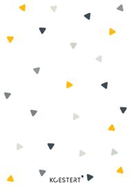Geboortekaarten bundel | driehoekjes