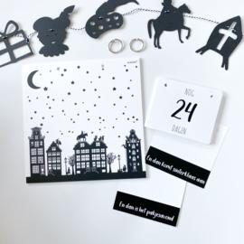 Aftelbord | aftelkalender | sint / kerst / oud & nieuw