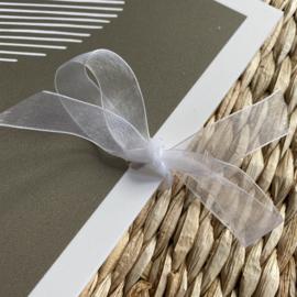 Condoleance kaartenbundel | bewaarbundel  | grijs | vlinders