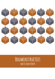 Lego | bouwinstructies | A5 bundel | blauw