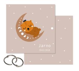 Bewaarbundel voor rouwkaarten | beer