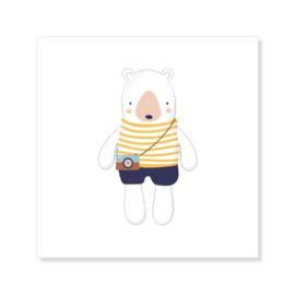 Tegeltje | beer