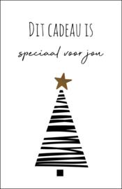 Dit cadeau is speciaal voor jou |  minikaartje