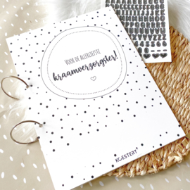 Kraamverzorgster | cadeau | bedankt | luxe bewaarbundel