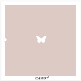 Condoleance kaartenbundel | bewaarbundel  | roze | vlinders