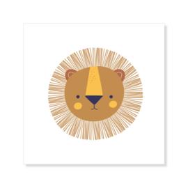 Tegeltje | leeuw