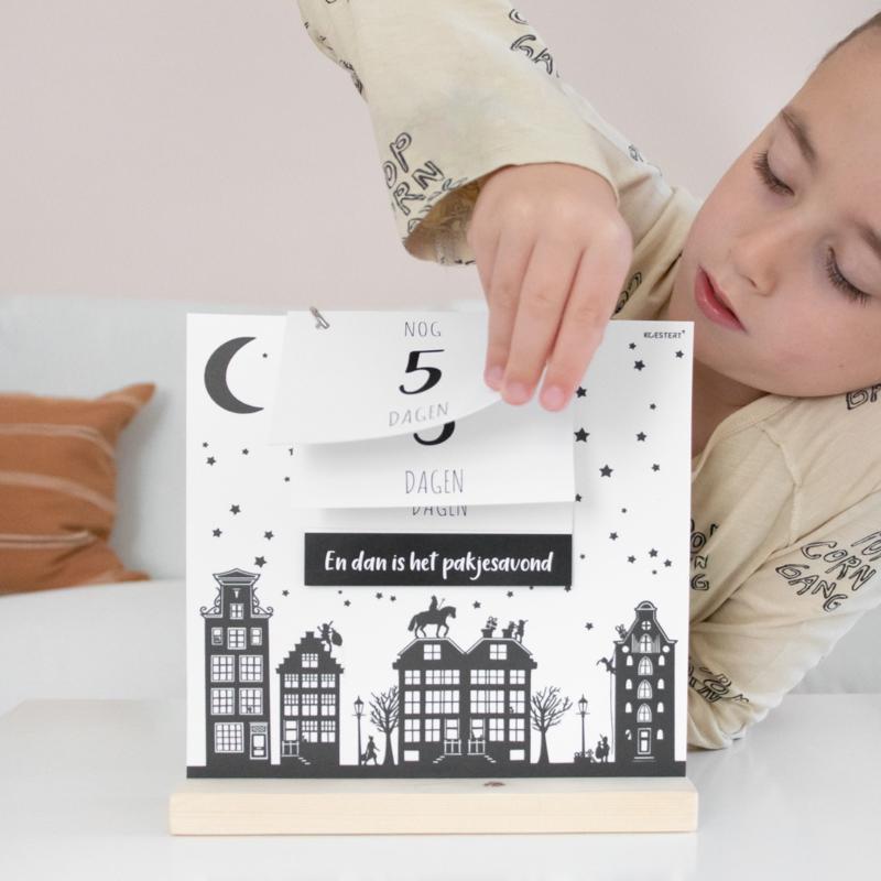 Aftelbord   aftelkalender   sint / kerst / oud & nieuw