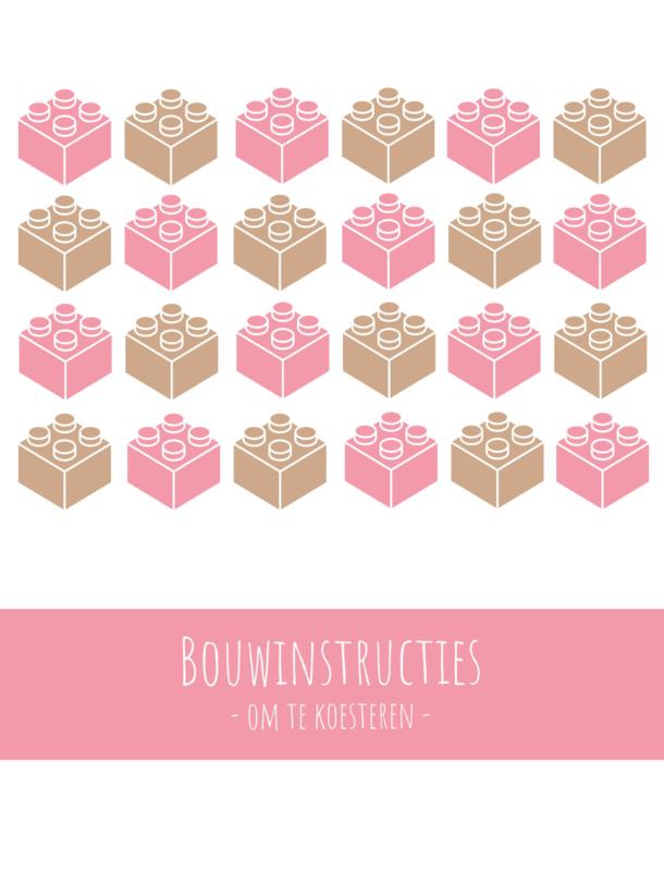 Lego | bouwinstructies | XL bundel | roze