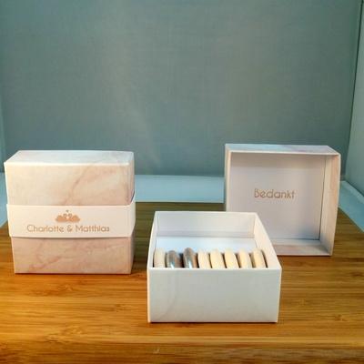 Luxe box met suikerbonen