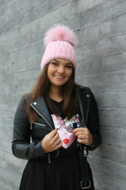 Light Pink Beanie