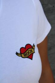 White Heart Of Rock T-shirt