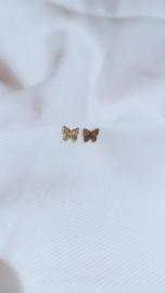 BUTTERFLY EARSTUDS - GOLD
