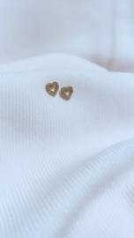 HEART EARSTUD - GOLD