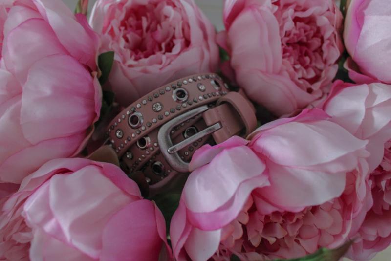 Roze riem