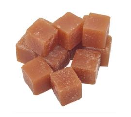 Cubes de Caramel Toffee sans sucre