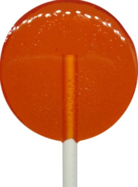 Orange lolly Zuckerfrei