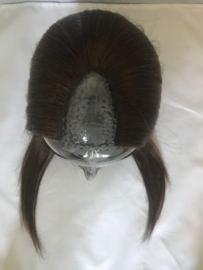 V shape hairpiece 50 gram 18 inch