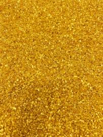 Glimmer sugar goud