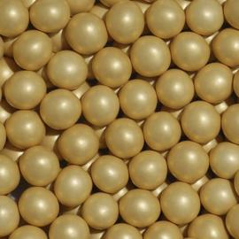 Crunchy parel metallic goud
