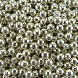 Crunchy mini parel zilver