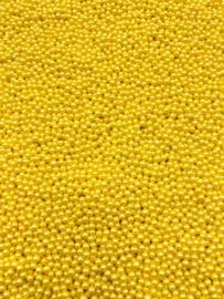 Parel geel 3 mm
