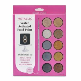 Edible art metallic paint palette XL