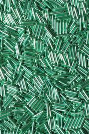 Rods metallic groen