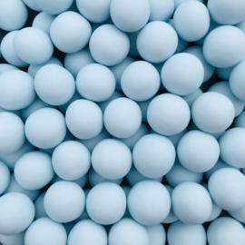 Crunchy parel mat blauw
