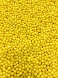 Parel geel  5 mm