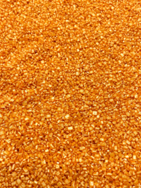 Glimmer sugar oranje
