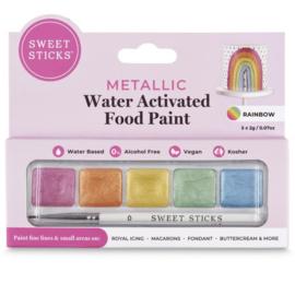 SweetSticks Water Activated Mini Palette - RAINBOW