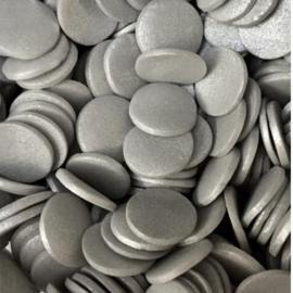 Confetti zilver 10 mm
