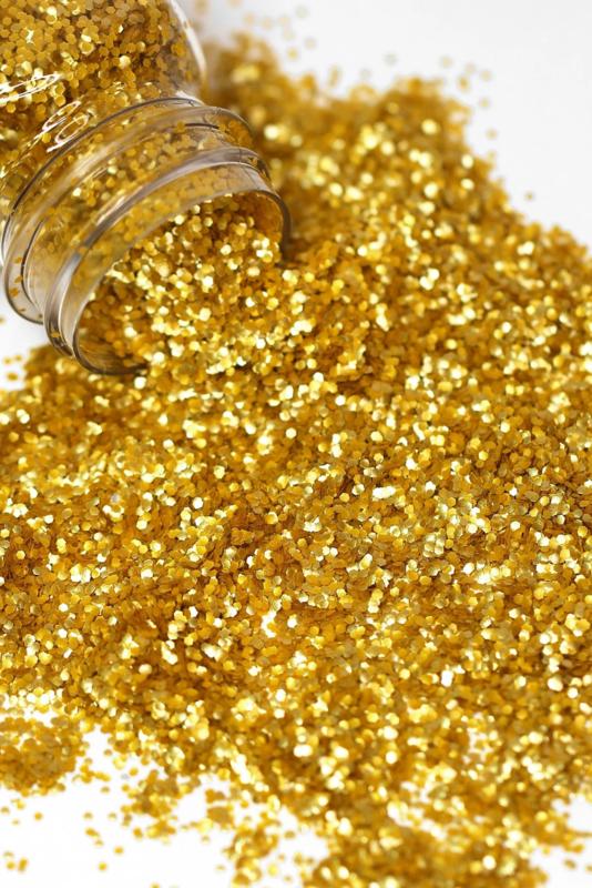 Hexagons goud