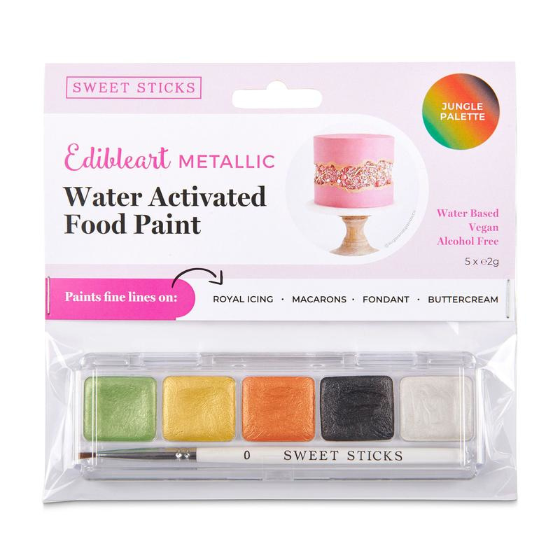 SweetSticks Water Activated Mini Palette - JUNGLE