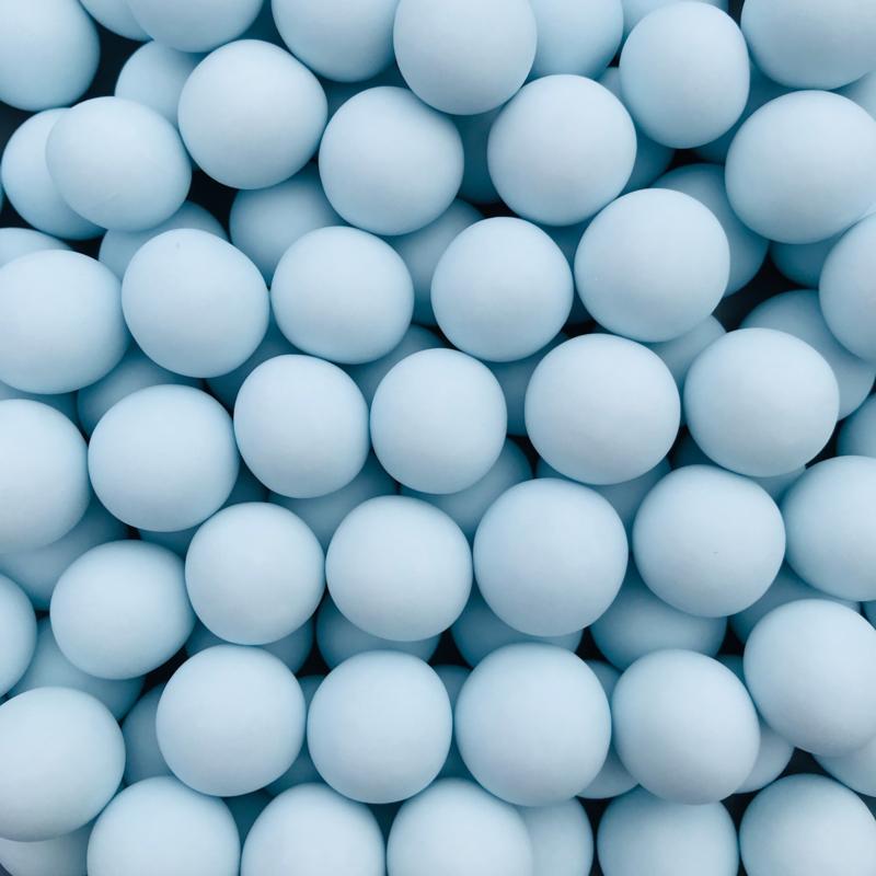 Crunchy parel blauw mat