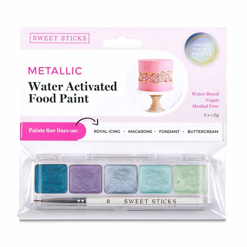 SweetSticks Water Activated Mini Palette - UNDER THE SEA