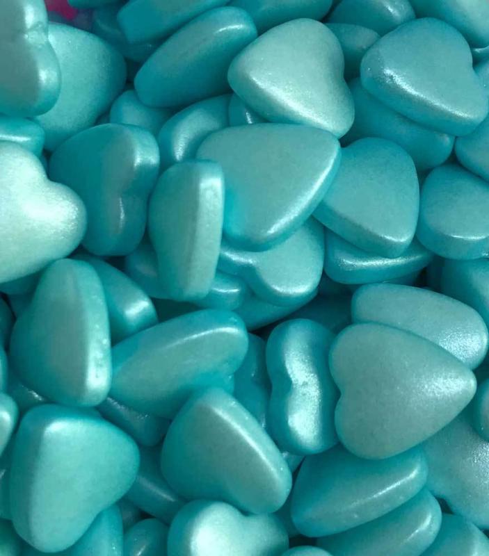 Hart blauw