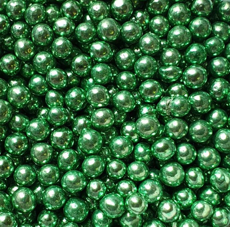 Metallic parel groen 4 mm