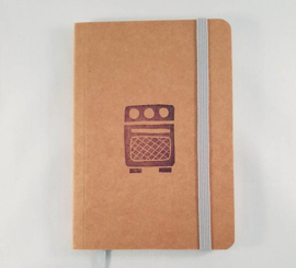 A6 notitieboekje - Oven