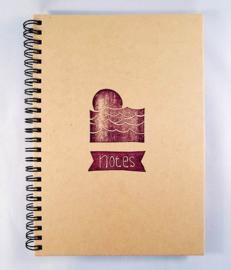 A5 notitieboekje - Zonsondergang