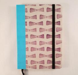 A6 notitieboekje - Strikjes