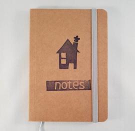A6 notitieboekje - Huisje